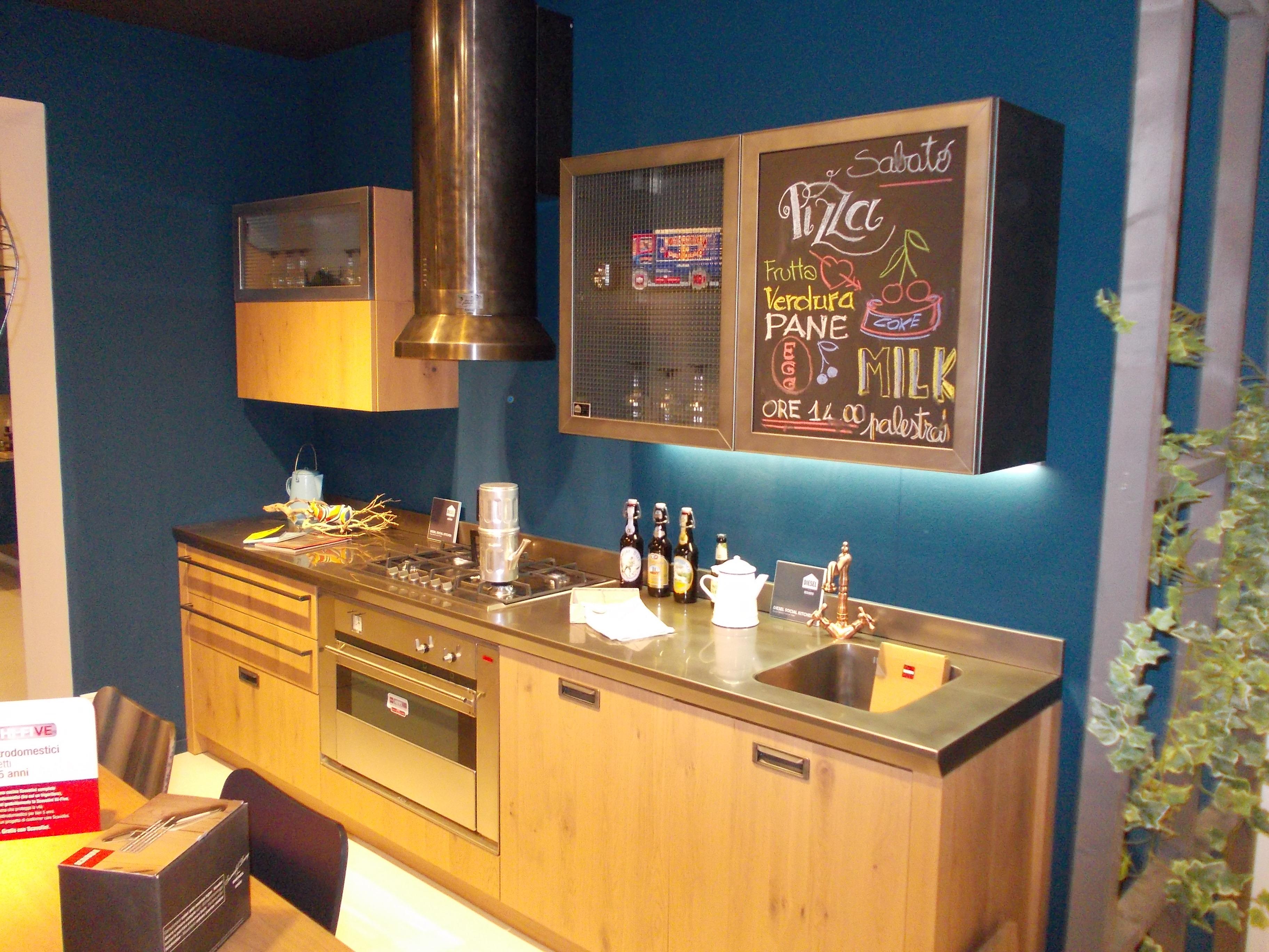 Cucina Diesel Social Kitchen di Scavolini - mobilinino.it