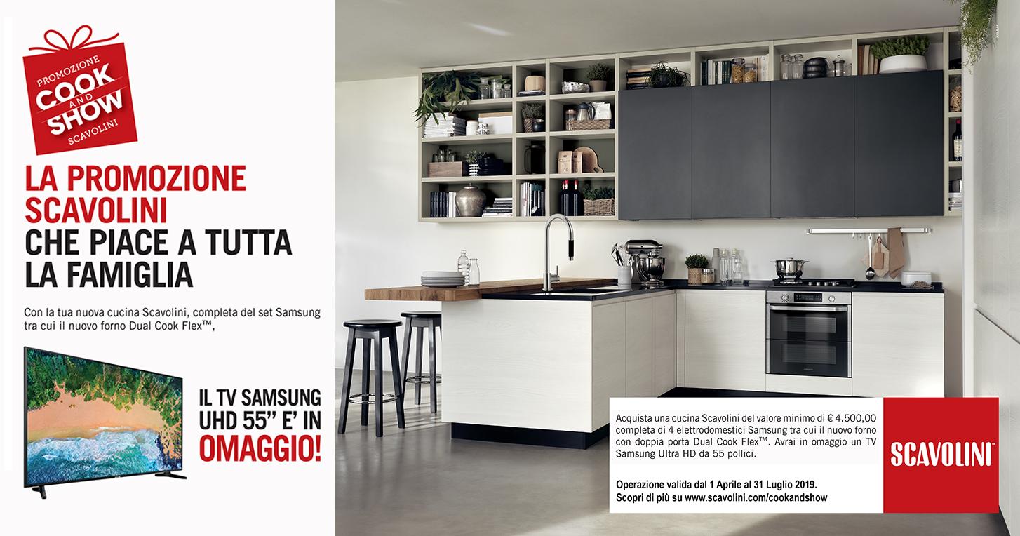 La tua cucina Scavolini con set elettromestici Samsung ti ...